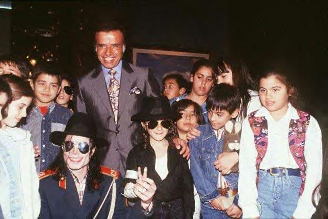 Michael et les Grands Hommes de ce monde 1993_m48