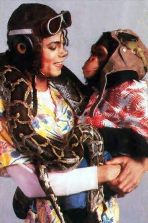 Collection MJ-Story : Michael et les animaux ^^ Michae21