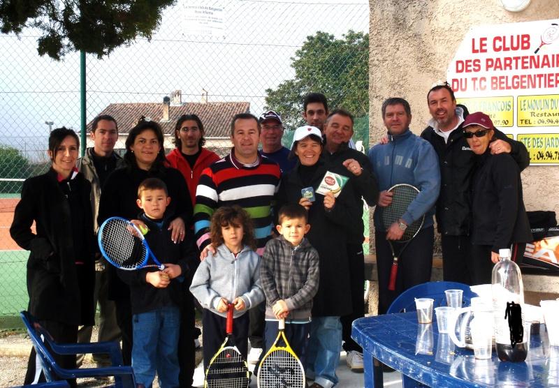 Remise des prix simple dames  Tennis10