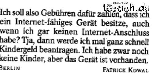 Die böse GEZ 17678-10