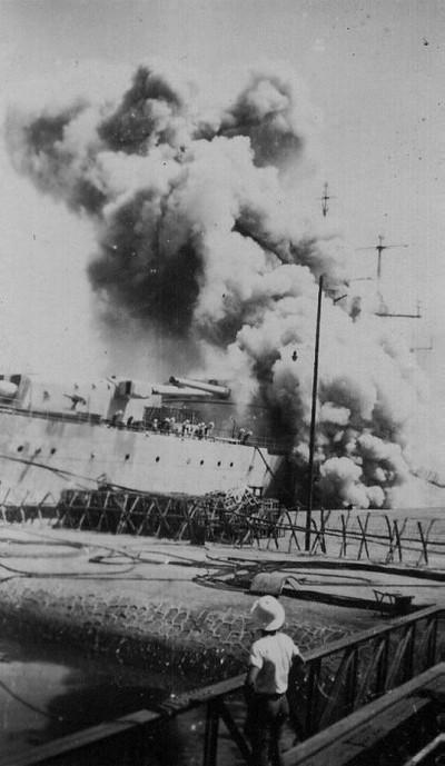 Cuirassé Richelieu 1/100 Vrsion 1943 sur plans Polonais et Sarnet + Dumas Batime10