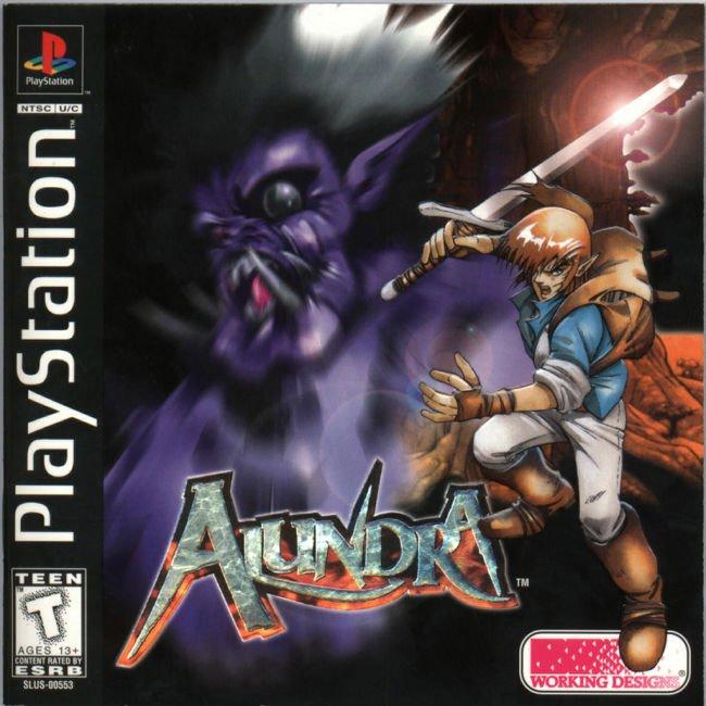 Alundra (NTSC-U) - PSone (Playstation) - RPG - 572 MB (uncompressed)/260 MB (compressed) Alundr10