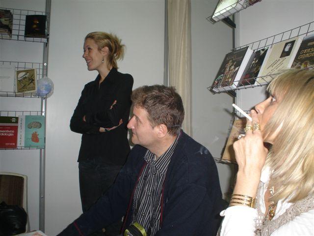 УДРУЖЕЊЕ ПИСАЦА ПОЕТА НА САЈМУ КЊИГА 2008. - слике са штанда Dsc00015