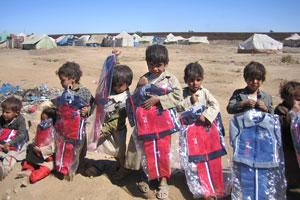 """تقرير أممي: ثلث الأطفال اليمنيين لا يستطيعون """"التعليم""""  Har09_10"""