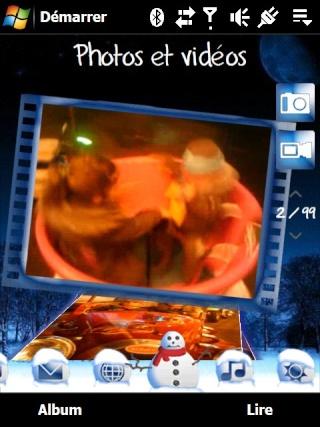 Theme Neige Screen25