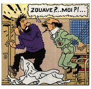 jeu d'enfant fusée de Tintin  Z10