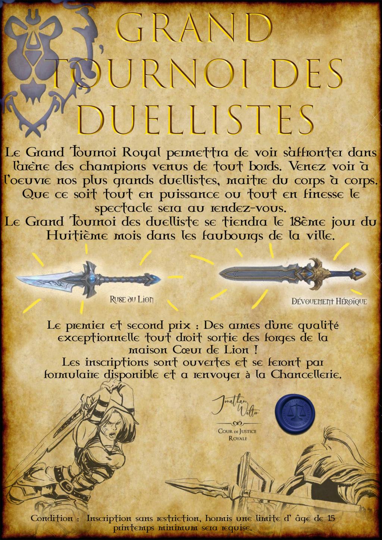 Avis à la Population : Grand Tournoi Royal Affich16
