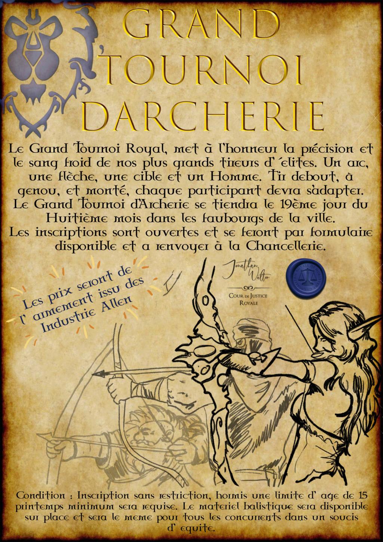 Avis à la Population : Grand Tournoi Royal Affich17