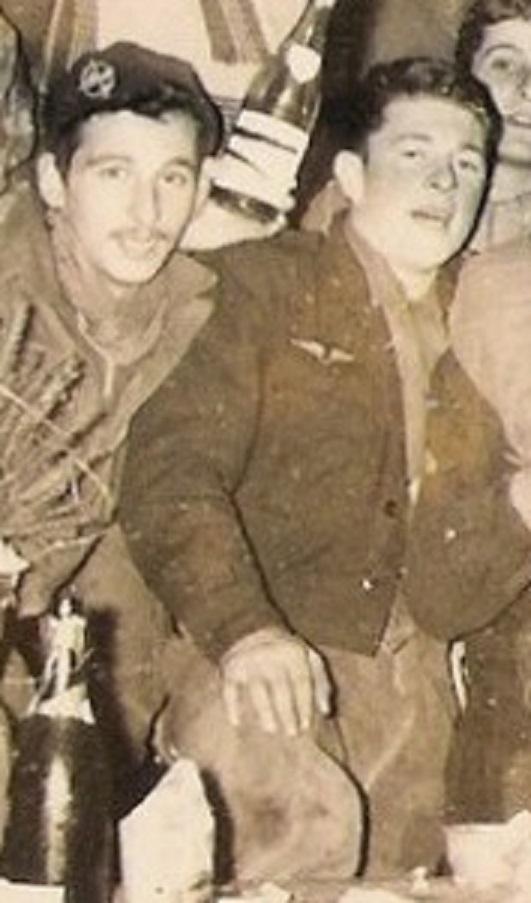 Sergent au CPA 20/541 en permission, décembre 1960 Mimosa10
