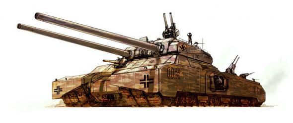 Les chars allemands monstrueux, une intox apparue dès 1943. 1b8d3f10