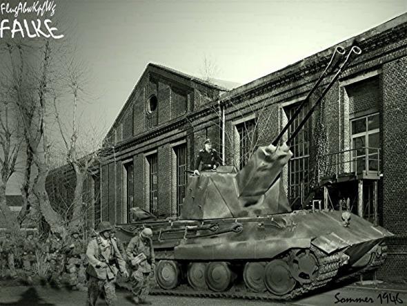 Les chars allemands monstrueux, une intox apparue dès 1943. 20665810