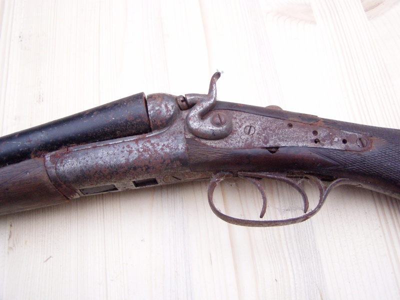 restauration fusil de chasse. 23-01-10