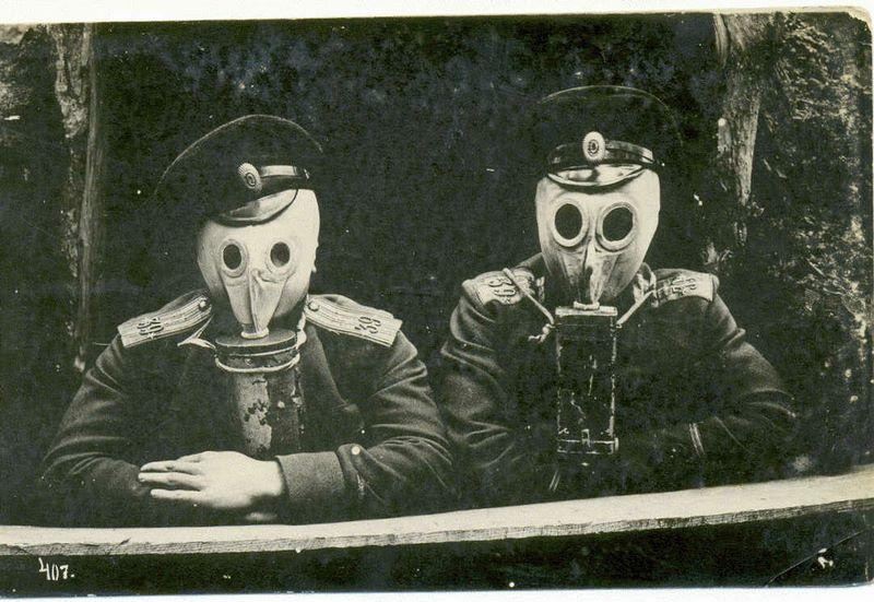 Masque à gaz Zelinski-Kummant 1916 29280310