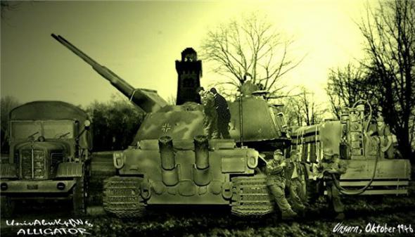Les chars allemands monstrueux, une intox apparue dès 1943. 312d9f10