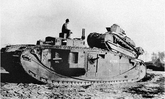 Chars américains de la Grande Guerre. 31422610