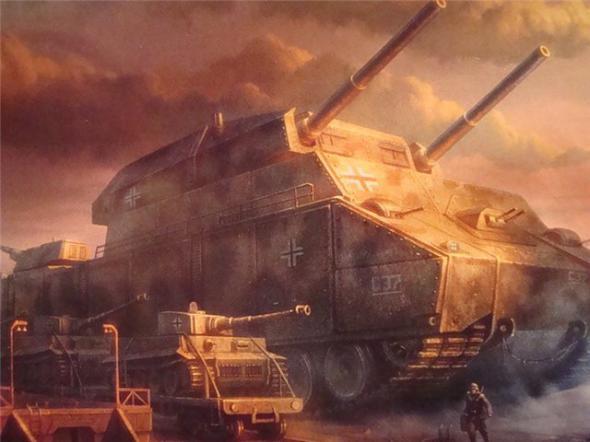 Les chars allemands monstrueux, une intox apparue dès 1943. 3484e210