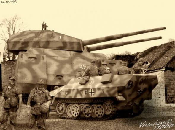 Les chars allemands monstrueux, une intox apparue dès 1943. 43a11610