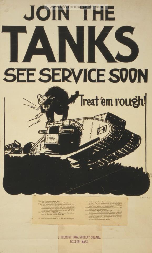 Chars américains de la Grande Guerre. 55624410