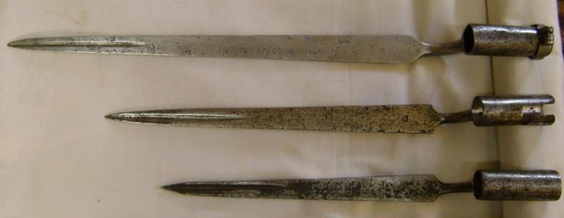 Trois baïonnettes Ancien Régime. Dsc07513