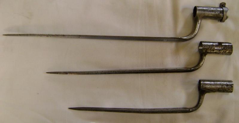Trois baïonnettes Ancien Régime. Dsc07514