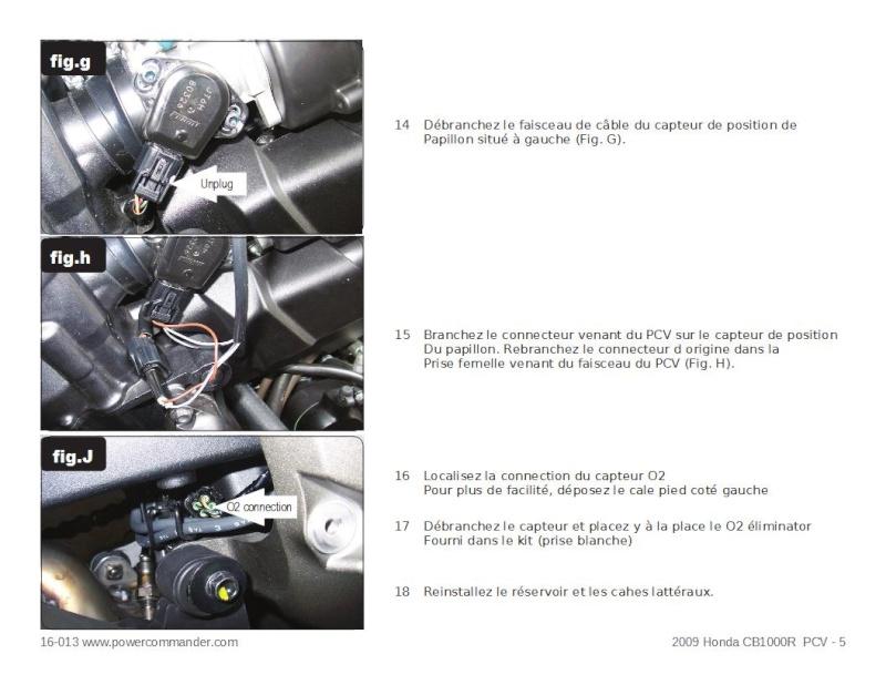 configuré le pc5 et autotune Pcv510