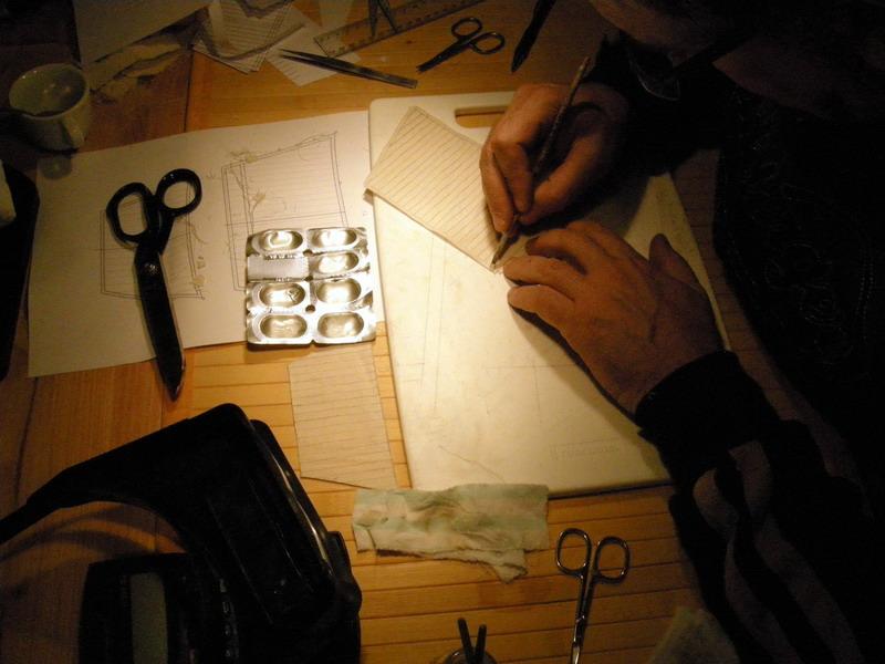 Realizzare le vele in scala 1:98 (Santos) Foto_711