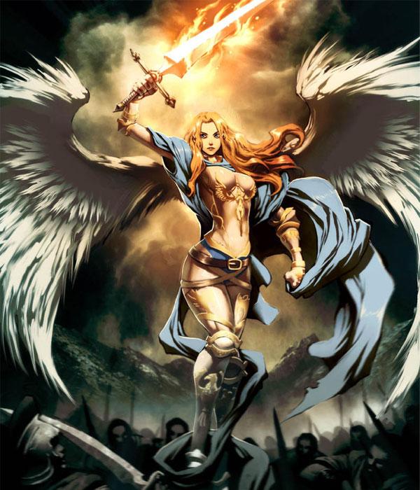 Melianel, Grand trône de l'Empire Angélique Melian10