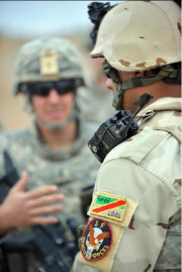 Patches worn by New Iraq Army. Iraq_s10