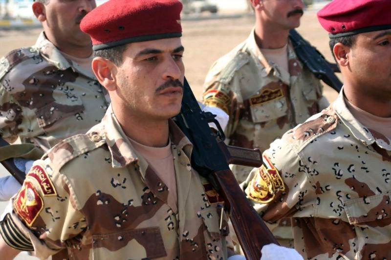 Patches worn by New Iraq Army. Iraqia10