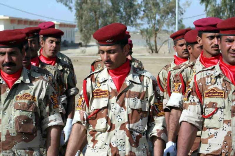 Patches worn by New Iraq Army. Iraqia11