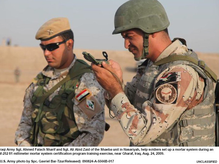Patches worn by New Iraq Army. Iraqis15