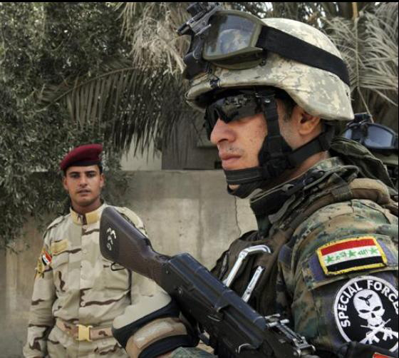 Patches worn by New Iraq Army. Iraqis17