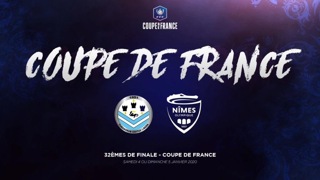 Coupe de France 32ème - Nîmes Olympique vs Tours FC Cdf13