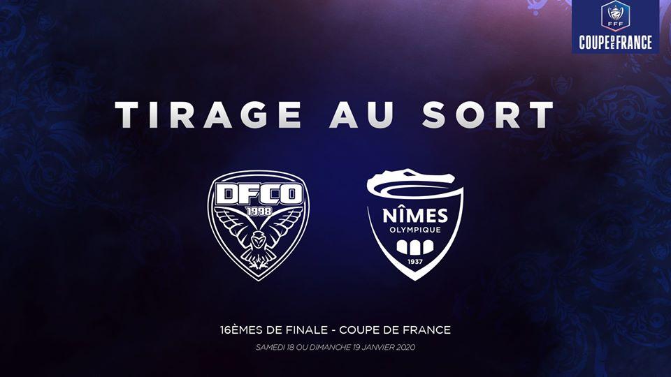 Coupe de France 16ème - Dijon FCO vs Nîmes Olympique Cdf14