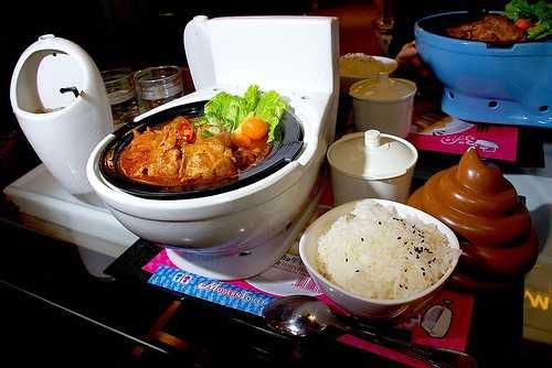Restaurant La Toilette Toilet15
