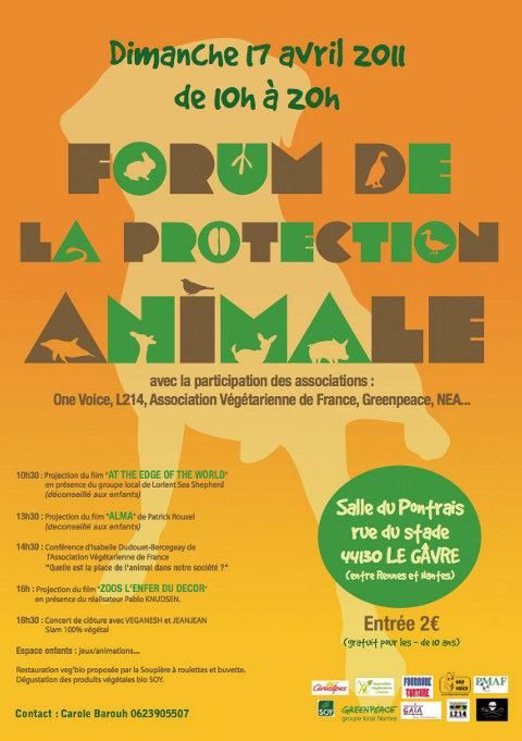 17 avril 2011 : Forum de la protection animale,  Le Gâvre (44). Forump10