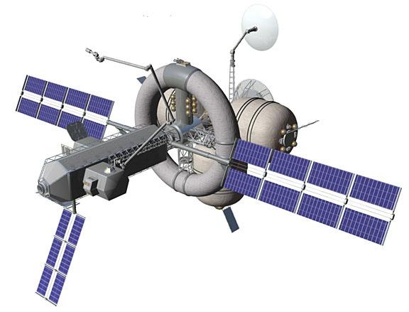 Nautilus-X - NASA's Multi-mission Space Exploration Vehicle Concept Sans_t82