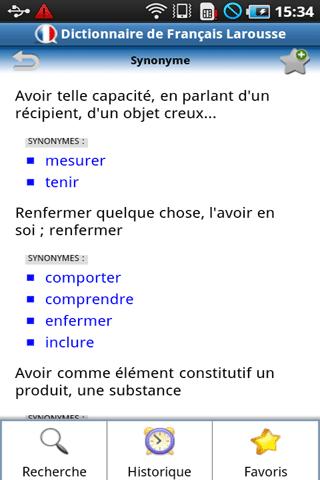 [SOFT] DICTIONNAIRE LAROUSE FRANCAIS : Dictionnaire [Payant] Conten11