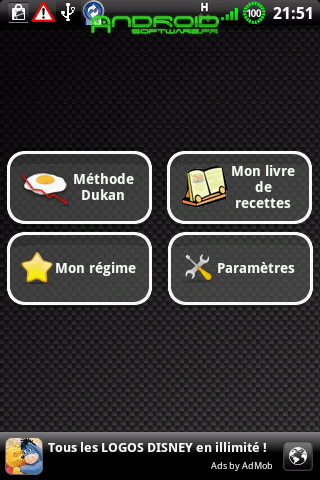 [SOFT] METHODE DUKAN : Coach régime sous Android [Gratuit/Payant]  Method10