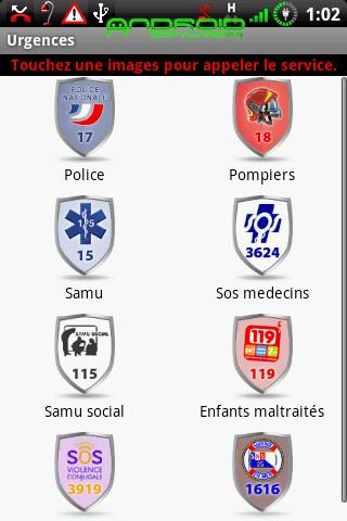 [SOFT] URGENCES (FR) : Numéro d'urgences français [Gratuit]  Urgenc10
