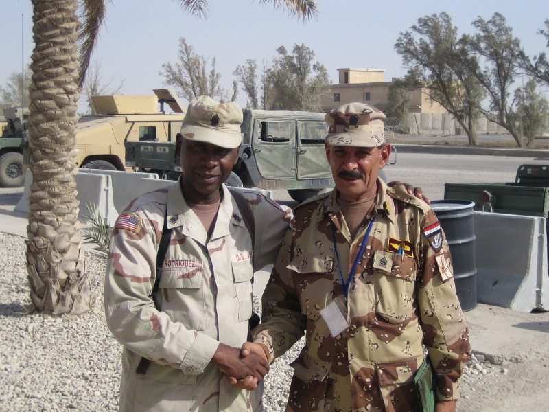 Patches worn by New Iraq Army. Partne11