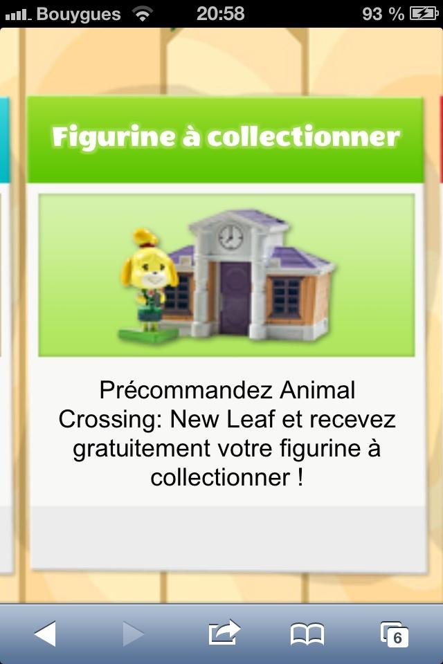 Un cadeau pour la réservation de Animal Crossing : New Leaf  Img_1410