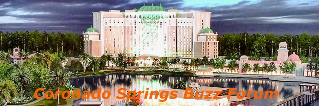Coronado Springs Buzz Forum