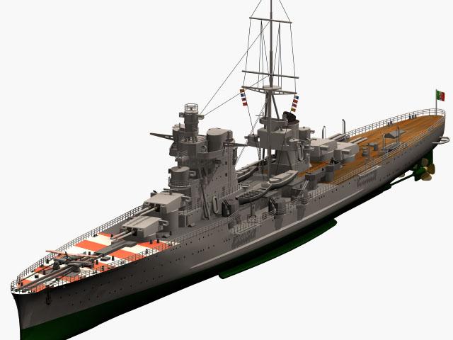 Regia Marina Italian Heavy Cruiser 'Pola' Ca-pol10