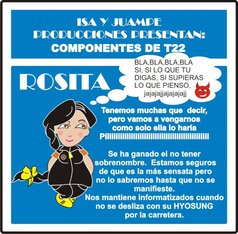 """3ª entrega de """"COMPONENTES DE T22"""" Persna19"""