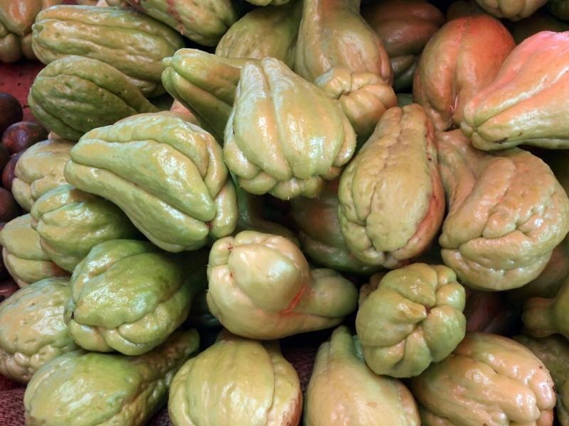 Fruits et Légumes sur les marchés de l'ile de la Reunion Chouch10