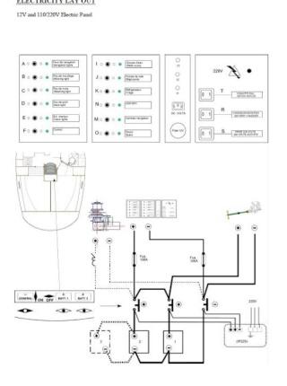 batteries - Oceanis 361 / Circuit Batteries Oceani10