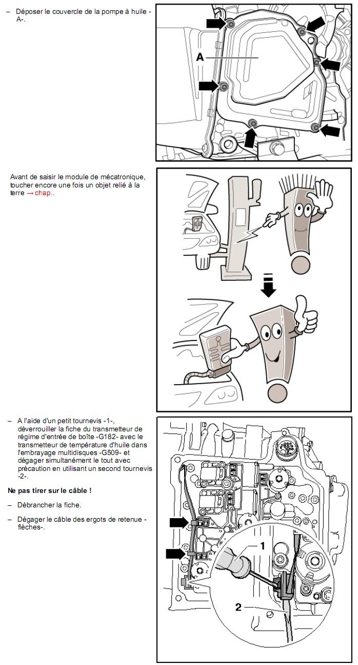 Description et Réparation - Boite DSG 02E  Dsg1710