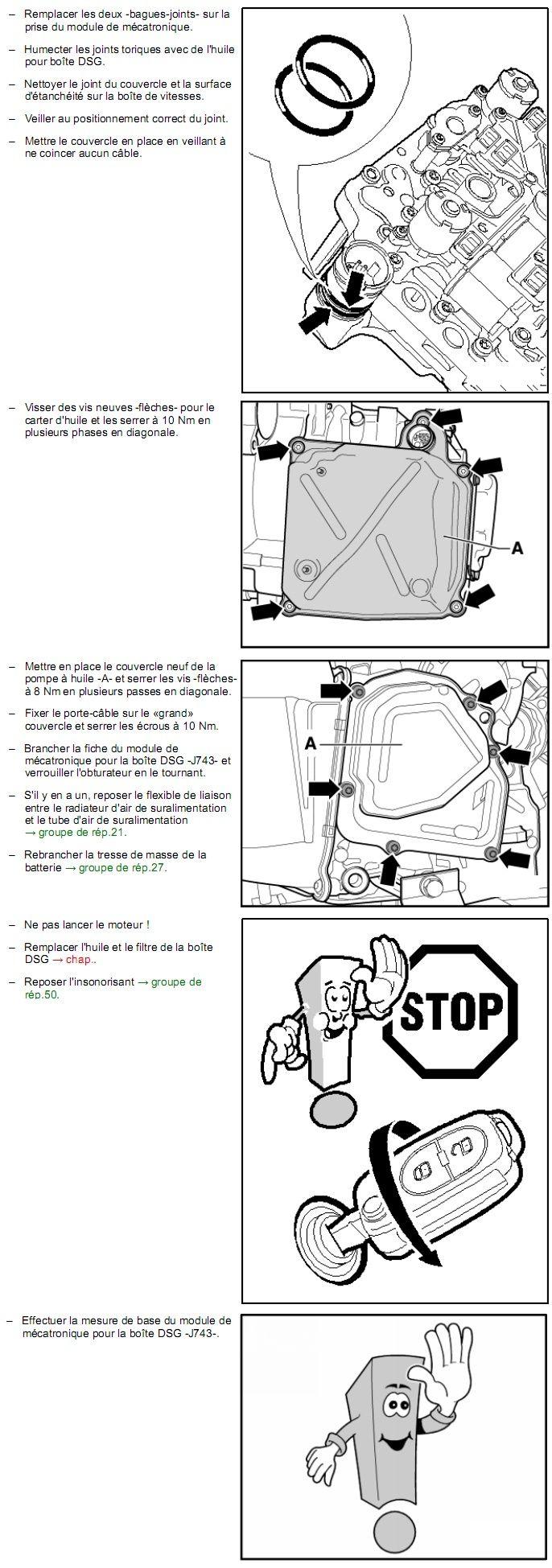Description et Réparation - Boite DSG 02E  Dsg2010
