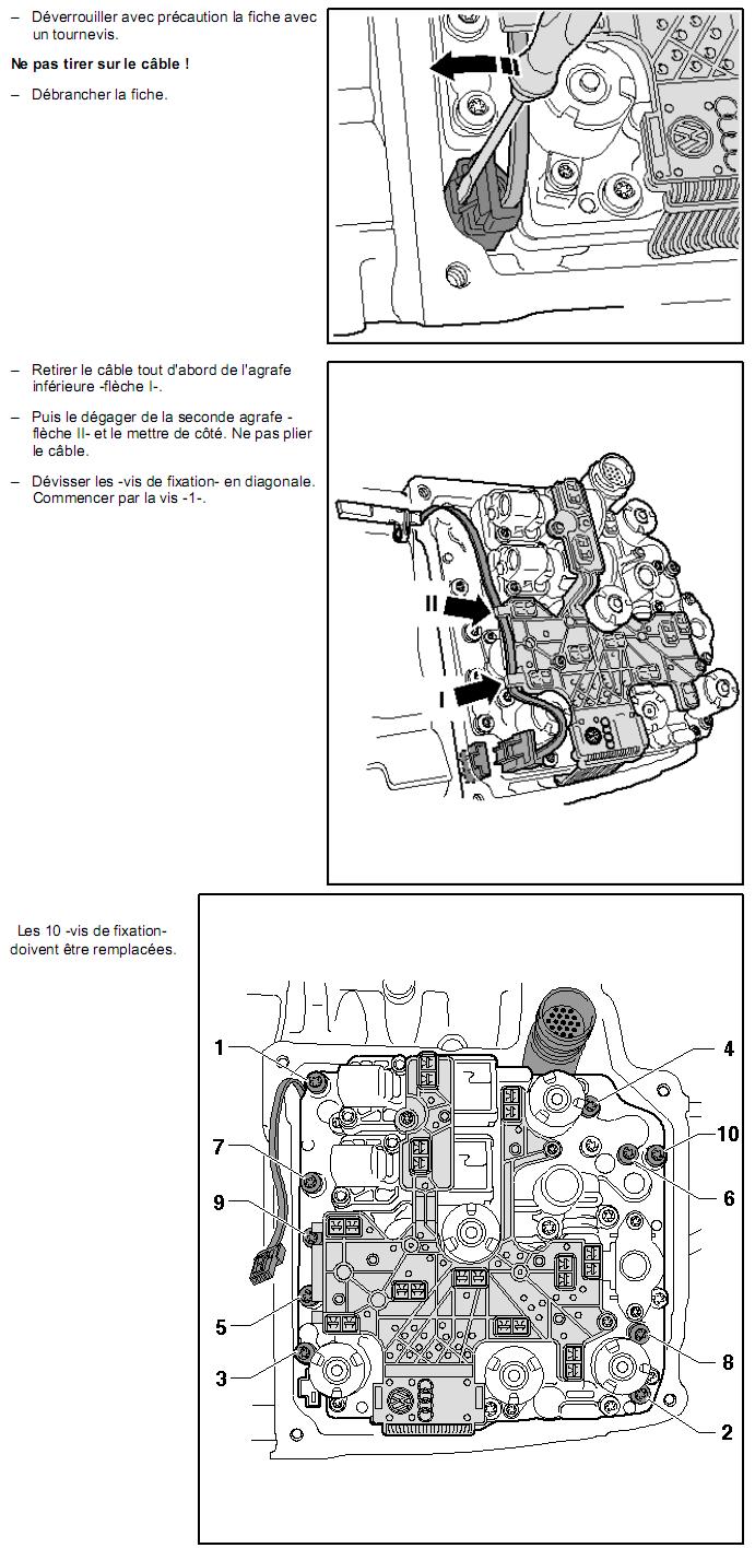 Description et Réparation - Boite DSG 02E  Dsg2311